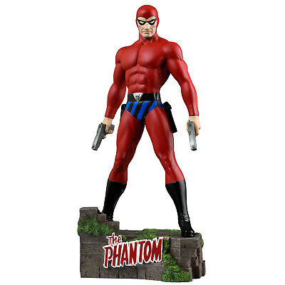 "The Phantom - The Ghost Who Walks - Red Suit Variant 12"" Statue"