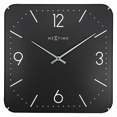 NEW Basic Slim Square Dome Wall Clock - NeXtime,Clocks