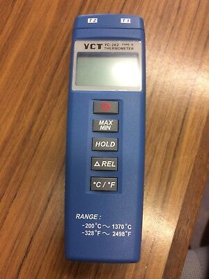 YCT 260 262 MINI THERMOMETER Type K 2000 model