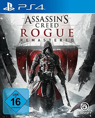 Assassin's Creed Rogue - Remastered (Sony PlayStation 4) (Neu)