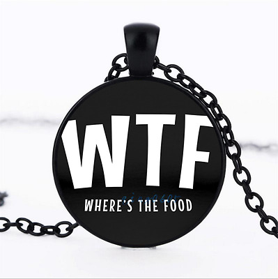 where is the food Black/Bronze/Tibet silver glass dome chain Pendant Necklace