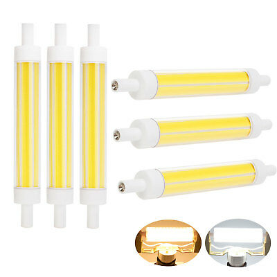Dimmable COB 15W R7S 118mm J118 Ceramic Bulb Light Replace Halogen Floodlight