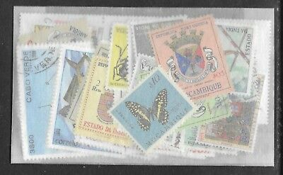 PORTUGUESE COLONIES STAMP COLLECTION PACKET 50 DIFFERENT Mint & Used SELECTION