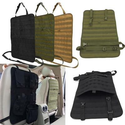 Vehicle MOLLE Seat Back Panel Organizer Cover Protector Universal Car 3 Color GL