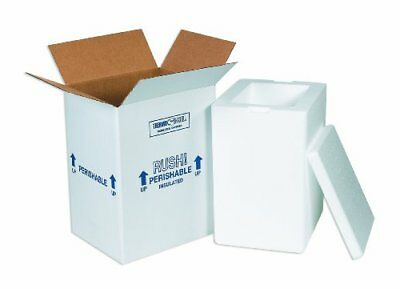 """Aviditi 212C Insulated Shipping Containers, 8""""L x 6""""W x 12""""H"""