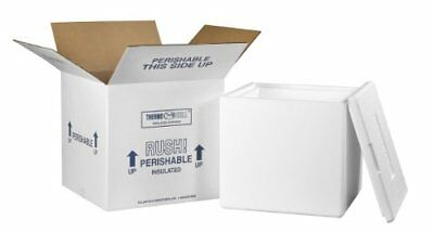 """Aviditi 240C Insulated Shipping Containers, 13""""L x 13""""W x 12 1/2""""D"""