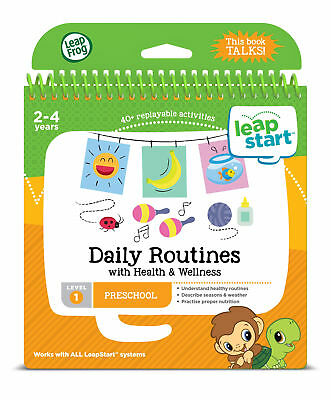 Leapfrog Leapstart Level 1,  Daily Routines With Health & Wellness 30+ Page