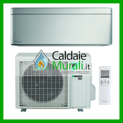 Climatizzatore Daikin Bluevolution Stylish Silver 18000 Btu A+++ R-32 Ftxa50As