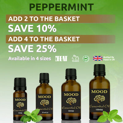 Essential Oil Pure Aromatherapy Natural Oils Peppermint Organic Fragrances