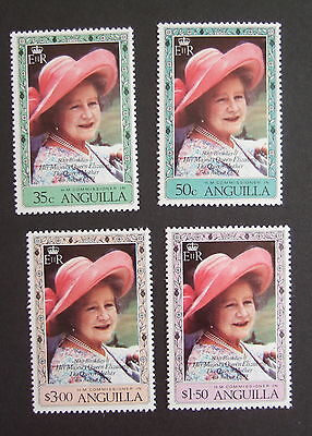 Anguilla 1980 Queen Mother's 80th Birthday MNH UM unmounted mint