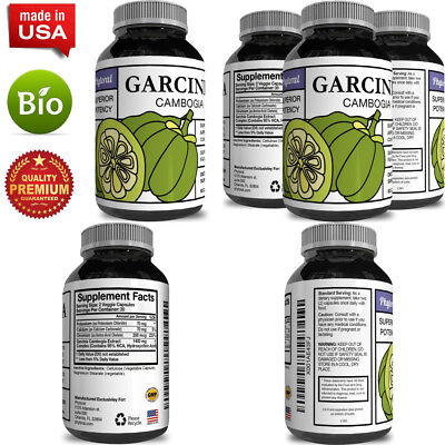 Garcinia Cambogia Extract Fast Acting Weight Loss for Women and Men - 95 HCA...