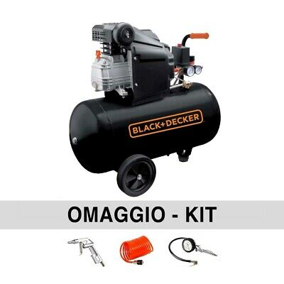 Compressore aria 50 lt  Black & Decker BD205/50
