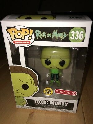 Funko POP! Rick and Morty - Toxic Morty #336 TARGET EXCLUSIVE - NOT MINT