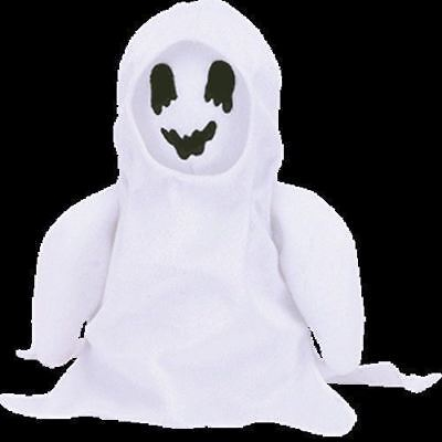 Ty Beanie Babies Sheets The Halloween Ghost Retired