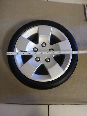 12.9x4 Foam-Filled Rear Wheel Assembly for the Pride Pursuit  Mobility Sc