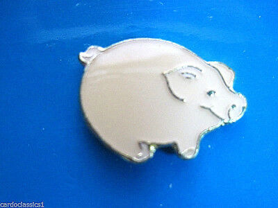 Pink PIG -   hat pin , lapel pin , tie tac , hatpin GIFT BOXED e