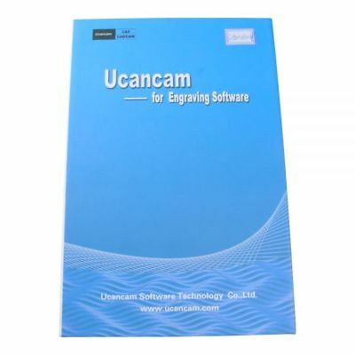 Ucancam V10 Standard Version CNC Engraving Software for CNC Router G Code