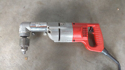 """Milwaukee 1001-1 1/2"""" Heavy Duty Electric Corded Right Angle Drill"""