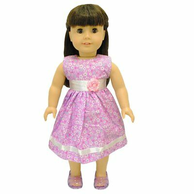"Doll Clothes Flowers Dress Outfit  Fits American Girl & Other 18"" inches Dolls"