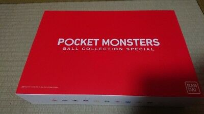 New Pokemon Pocket Monsters Ball Collection SPECIAL (Premium Bandai Limited) F/S