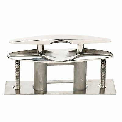 Amarine-made Boat Stainless Steel Pull up Cleat Flush Mount Cleat Lift (6 Inch)