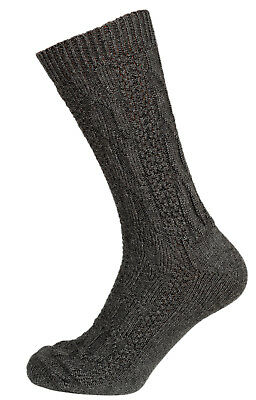 Schuhmacher Traditional Costume Socks CS528 Anthracite