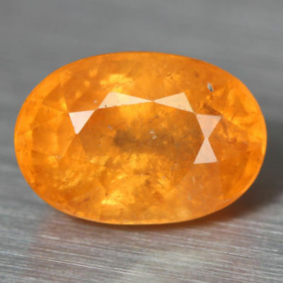 1.925 Ct FABULOUS 100% NATURAL FANTA ORANGE SPESSARTITE GARNET UNHEATED RARE GEM