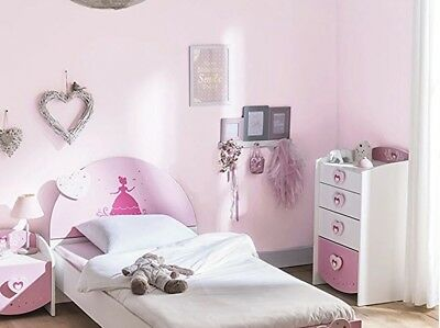 kinderbett disney princess ii m dchen prinzessin bett 70x140 cm mit matratze eur 299 00. Black Bedroom Furniture Sets. Home Design Ideas