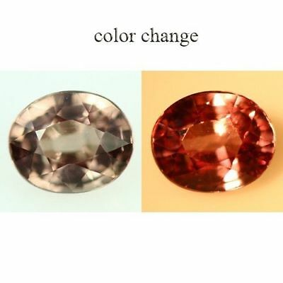 """1.715Cts UNIQUE UNHEATED """"FLAWLESS"""" NATURAL ULTRA HOT 100% COLOR CHANGE GARNET"""