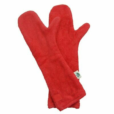 ruff tumble Dog cotton towelling drying mitts-choice 6 colours