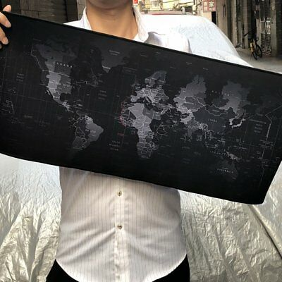 Extended Thick Gaming Mouse Pad XL Size Desk Keyboard Mat Non Slip Rubber Base
