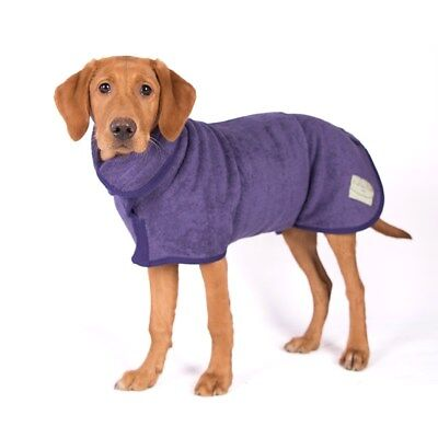 Ruff & Tumble cotton towelling Dog Drying Coat choice  4 sizes and 4 colours.