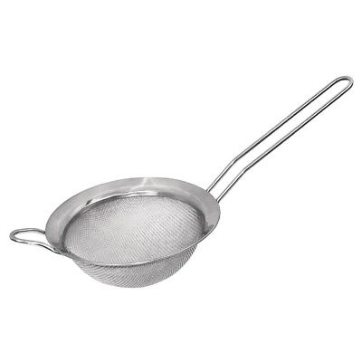 Vogue Sieve 14cm Silver Colour Stainless Steel