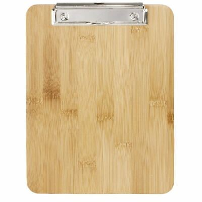 Olympia Bamboo Menu Clipboard - Made of Wood with Metal Clip - Size - A5