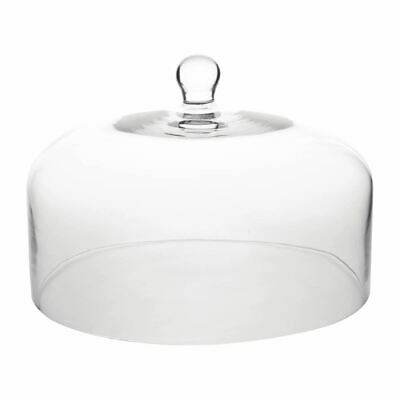 Olympia Glass Cake Stand Dome 195x290mm fits CS013