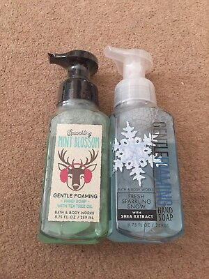 Bath & Body Works Gentle foaming hand soap Fresh Sparkling Snow/Mint Blossom