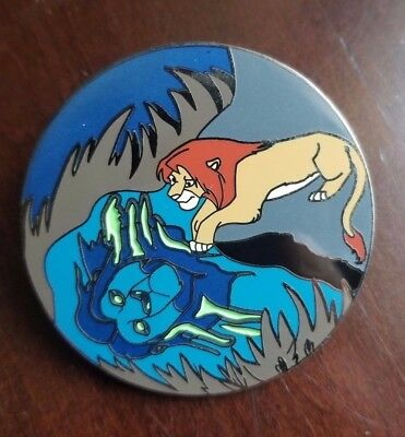 Disney Simba and Mufasa Remember Who you Are Lion King fantasy pin LE 100