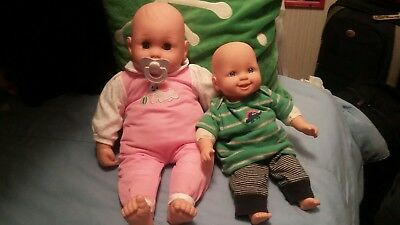 2 Adorable baby dolls