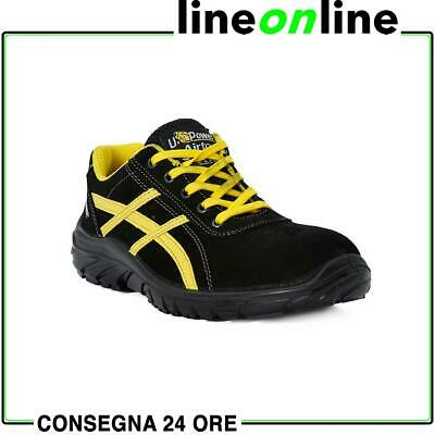 Scarpe antinfortunistiche U Power Vortix Grip S1P SRC UPower antiscivolo pelle