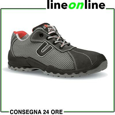 Scarpe antinfortunistiche U Power Coal S1P SRC UPower sportive e leggere