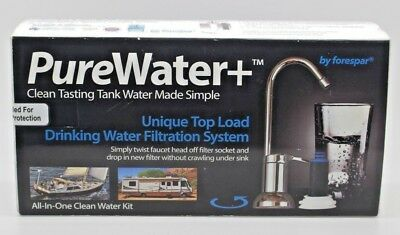 Pure Water+ Complete Starter Kit, For Boats, Rv's & Homes. New Sealed.