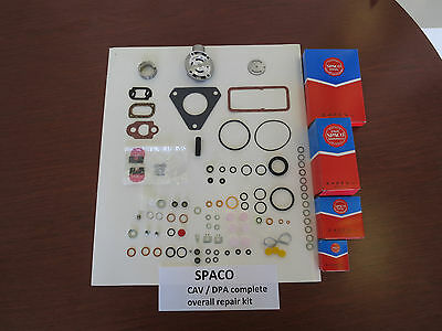 SPACO CAV/DPA rebuild kit for Lucas diesel injection pumps on Ford MFand others