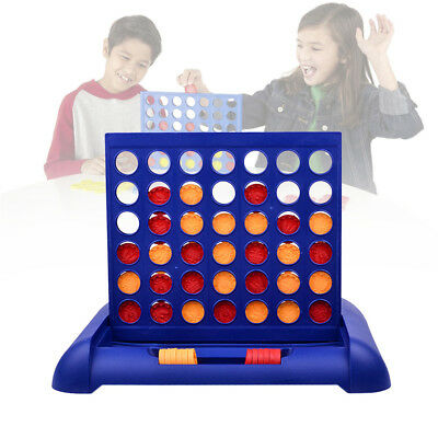 Connect Four In ARow 4In A Line Board Game Toy Set Family Fun Travel UniversalHQ