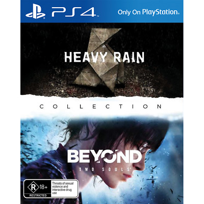 The Heavy Rain & Beyond: Two Souls Collection PS4 Playstation 4 Game Brand New