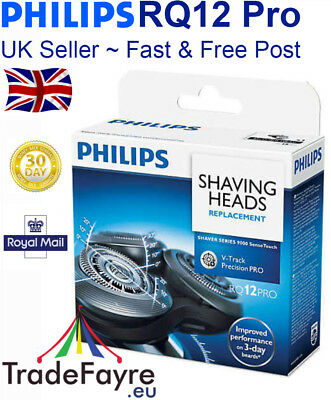 PHILIPS RQ10 / RQ12 Pro / RQ12+ SensoTouch 3D Replacement Shaving Heads Foils