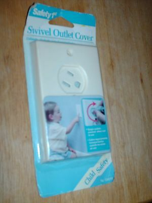 Safety 1St Swivel Outlet Cover New In Package - New Old Stock- Child Safety