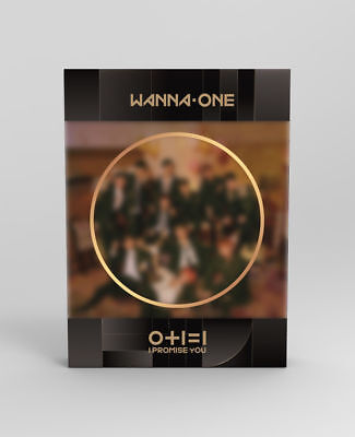Wanna One [0+1=1 Promise You] 2nd Mini Album Night Ver CD+Poster+Book+Card+Tazo