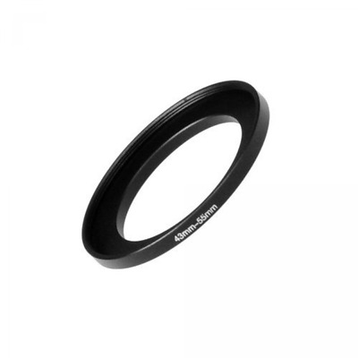 Fotodiox Metal Step Up Ring Filter Adapter, Anodized Black Aluminum 43mm-55mm...