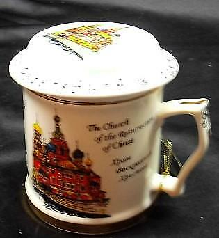 St. Petersburg, Russia 'The Church of the Ressurection of Christ' Souvenir Mug