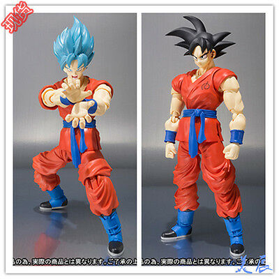S.H.Figuarts Dragon Ball Z Super Saiyan God SS Son Goku Gokou Figure